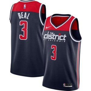 Men's Washington Wizards Bradley Beal Nike  Jersey